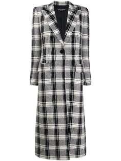 Dolce & Gabbana пальто в клетку