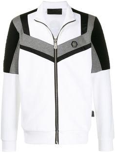 Philipp Plein спортивная куртка в стиле колор-блок