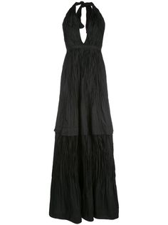 Alexis вечернее платье Tressa с вырезом халтер