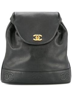 Chanel Pre-Owned рюкзак с логотипом