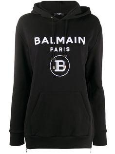 Balmain худи с логотипом