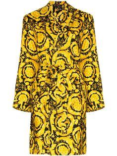 Versace халат с принтом Baroque