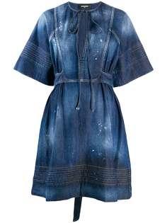 Dsquared2 джинсовое платье Georgette