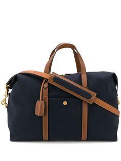 Mismo дорожная сумка с контрастной отделкой