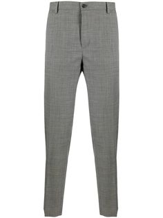 Dolce & Gabbana клетчатые брюки строгого кроя