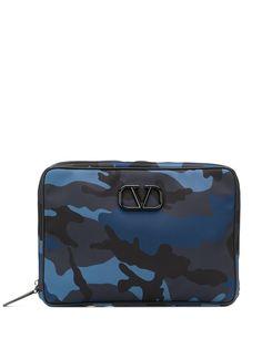 Valentino сумка для ноутбука Valentino Garavani с логотипом VLogo