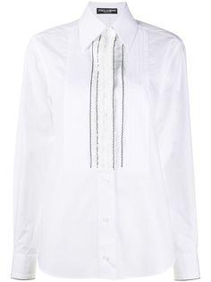 Dolce & Gabbana рубашка с манишкой