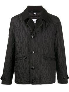 Burberry стеганая куртка