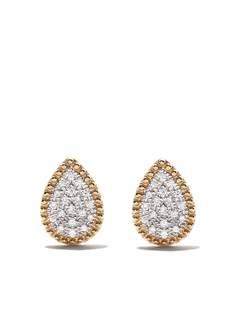 AS29 серьги Mye из желтого золота с бриллиантами