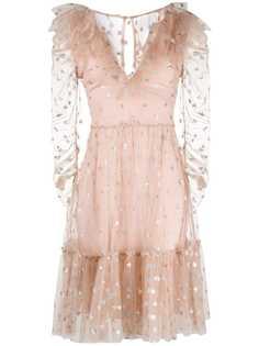Temperley London платье из тюля с пайетками