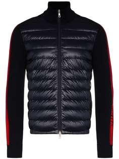 Moncler куртка с дутыми вставками