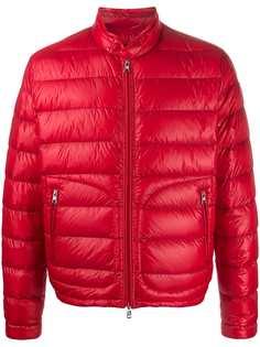 Moncler стеганая куртка с высоким воротником