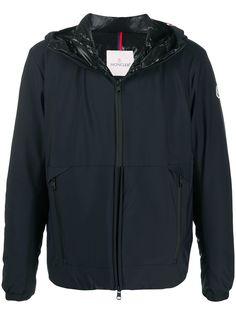 Moncler куртка с капюшоном и стеганой подкладкой