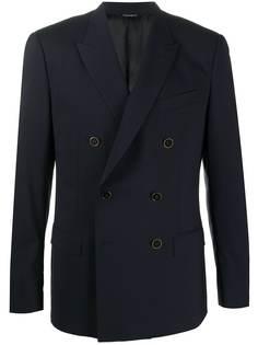 Dolce & Gabbana двубортный пиджак на пуговицах