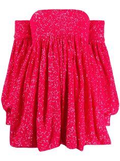 Amen коктейльное платье с открытыми плечами и пайетками Amen.