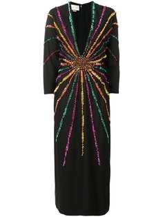 Gucci платье с пайетками