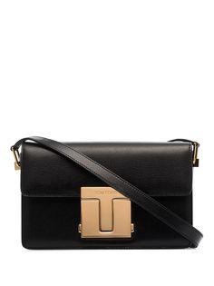 Tom Ford сумка на плечо с металлическим логотипом