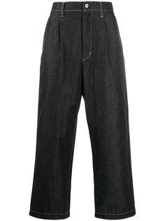 Junya Watanabe MAN широкие джинсы с завышенной талией