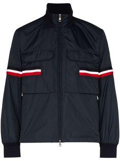 Moncler куртка Seine с контрастными полосками