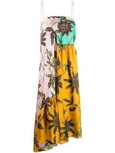 Dorothee Schumacher платье-бандо со вставками