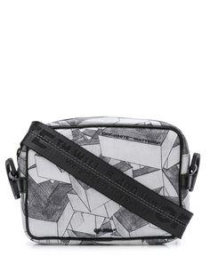 Off-White сумка через плечо с принтом