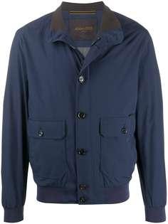 Moorer куртка-бомбер Carlos