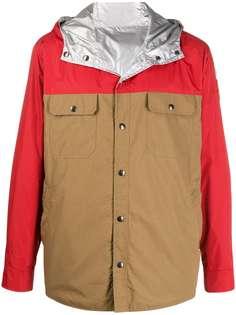 Moncler куртка в стиле колор-блок