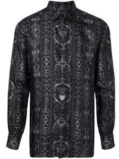Dolce & Gabbana рубашка с графичным принтом