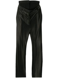 Burberry брюки с двойным поясом