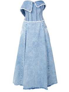 Natasha Zinko джинсовое платье-бюстье