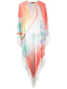 Missoni Mare пляжная накидка в стиле колор-блок