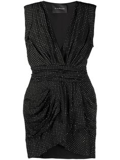 John Richmond коктейльное платье со стразами