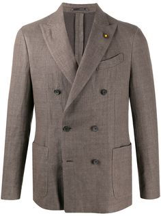 Lardini двубортный пиджак