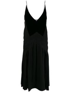 Givenchy расклешенное платье-комбинация