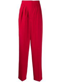 AMBUSH брюки с завышенной талией и складками