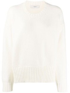 Pringle of Scotland свитер крупной вязки с приспущенными плечами