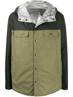 Moncler двусторонняя куртка в стиле колор-блок