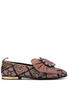 Dolce & Gabbana жаккардовые слиперы