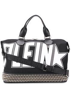Philipp Plein дорожная сумка с заклепками и логотипом