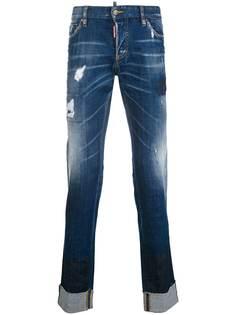 Dsquared2 джинсы узкого кроя