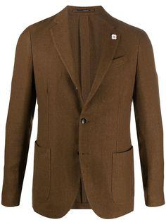 Lardini пиджак строгого кроя
