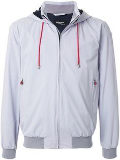 Kiton спортивная куртка с капюшоном
