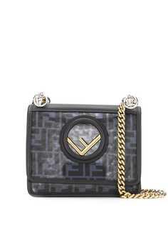 Fendi сумка на плечо Kan I с логотипом