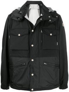 Moncler куртка с капюшоном и карманами