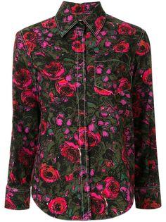 Marni рубашка с цветочным принтом