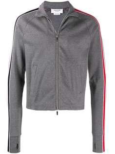 Thom Browne спортивная куртка с полосками RWB