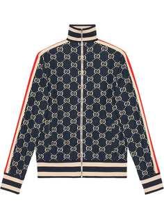 Gucci жаккардовая куртка GG