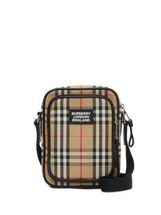 Burberry сумка через плечо в клетку Vintage Check