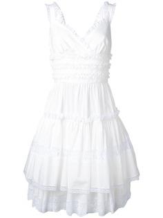 Dolce & Gabbana платье с кружевными вставками
