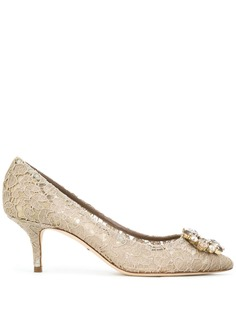 Dolce & Gabbana кружевные туфли-лодочки Bellucci